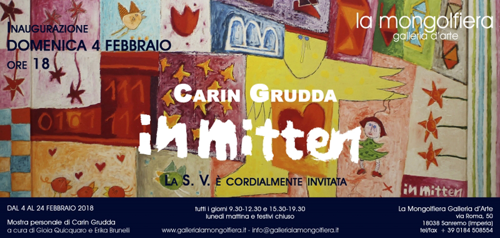 Bis 24.02.2018 – im Rahmen des »Festival di Sanremo« – carin grudda
